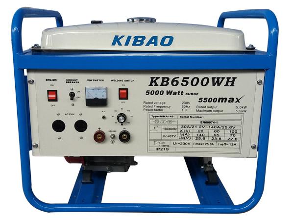 KB6500WH电焊 发电机组