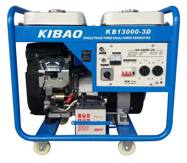 KB13000-3D发电机组